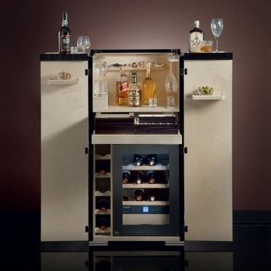 Agresti Bacco e tabacco ebano Wardrobe bar 531