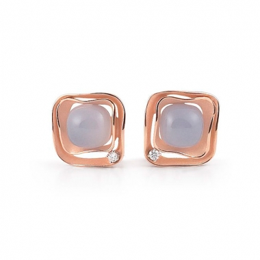 Annamaria Cammilli Dune Cubic Earrings GOR1952P
