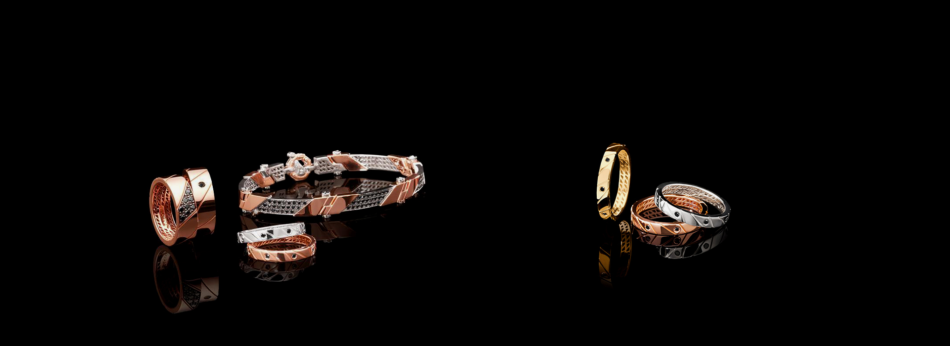 Baraka luxury men's jewelry
