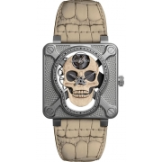 Bell & Ross Instruments watch BR01-SKULL-O-SK-ST