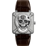 Bell & Ross Instruments watch BR01-SKULL-SK-FLD