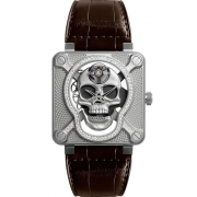 Bell & Ross Instruments watch BR01-SKULL-SK-LGD