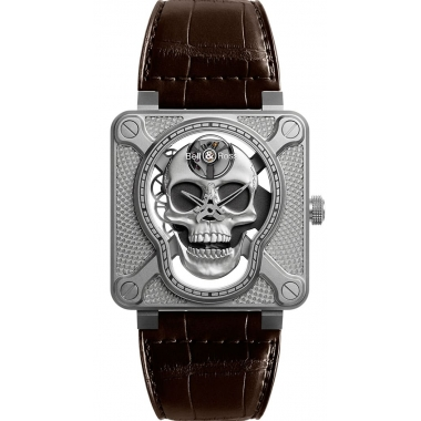 Bell & Ross Instruments watch BR01-SKULL-SK-ST