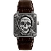 Bell & Ross Instruments watch BR0192-SKULL-BURN