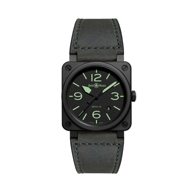 Bell & Ross Instruments watch BR0392-BL3-CE-SCA