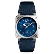 Bell & Ross Instruments watch BR0392-BLU-ST-SCA
