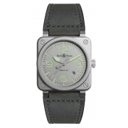 Bell & Ross Instruments watch BR0392-GR-ST-SCA