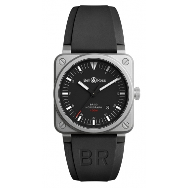 Bell & Ross Instruments watch BR0392-HOR-BLC-SRB