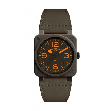 Bell & Ross Instruments watch BR0392-KAO-CE-SCA