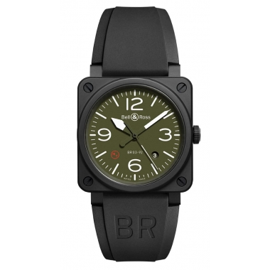 Bell & Ross Instruments watch BR0392-MIL-CE