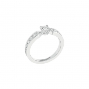 Chaumet Solitaire Plume Ring J3RCPV