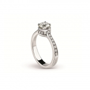 Damiani Belle Epoque Ring DBEWGPS