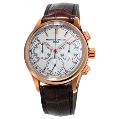 Frederique Constant Flyback Chronograph Manufacture Watch FC-760V4H4