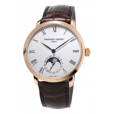 Frederique Constant Slimline Moonphase Manufacture watch FC-705WR4S4