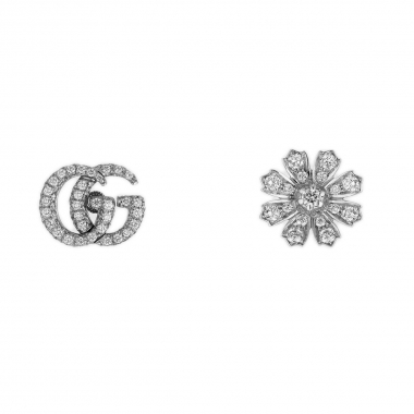 Gucci Flower and Double G Earrings 582033J8CZ09068