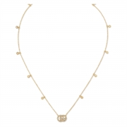 Gucci GG Running Necklace 481624J85408000