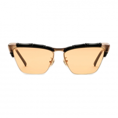Gucci Cat-eye sunglasses with bamboo effect 610372J16911072