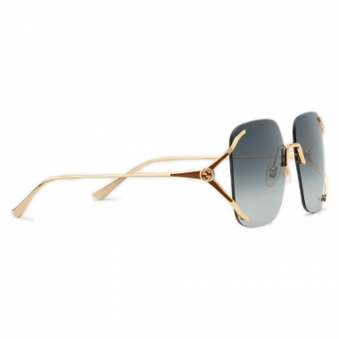 Gucci Round metal and acetate sunglasses 610393I33308017