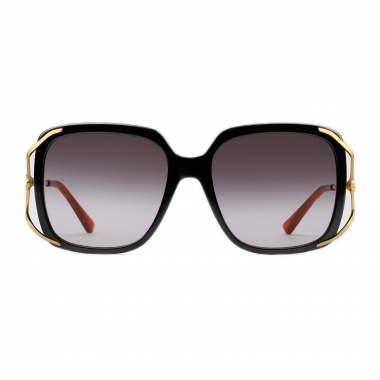Gucci Round metal and acetate sunglasses 610396J07701017