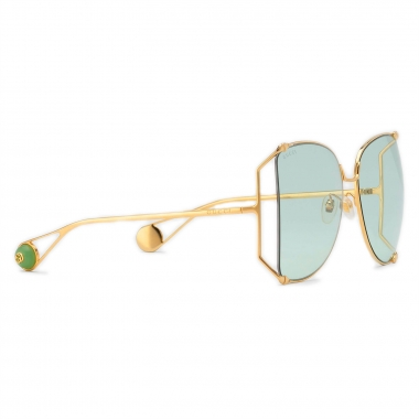 Gucci Round oversized metal Sunglasses 506215I03308039