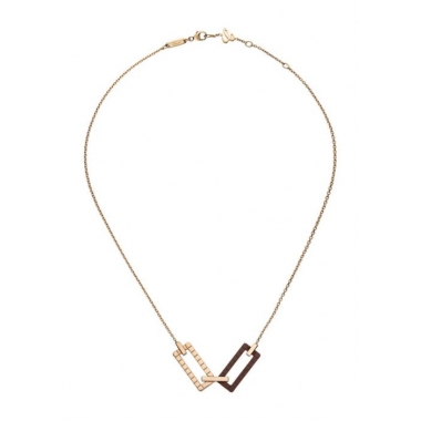 Ice Cube Rock Chopard Necklace 819895-9003