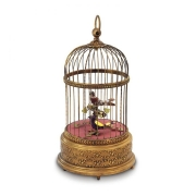 Reuge Voliere De La Cour – Antique Cage Music box AXO9070050A2